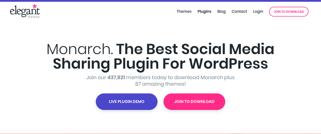Monarch_url Monarch, plugin Wordpress para compartir en redes sociales