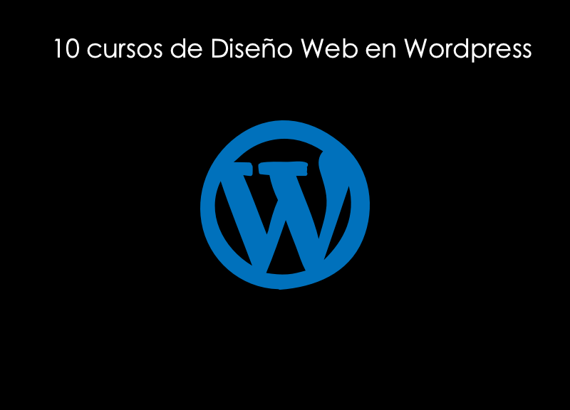 10 cursos de diseño web en wordpress