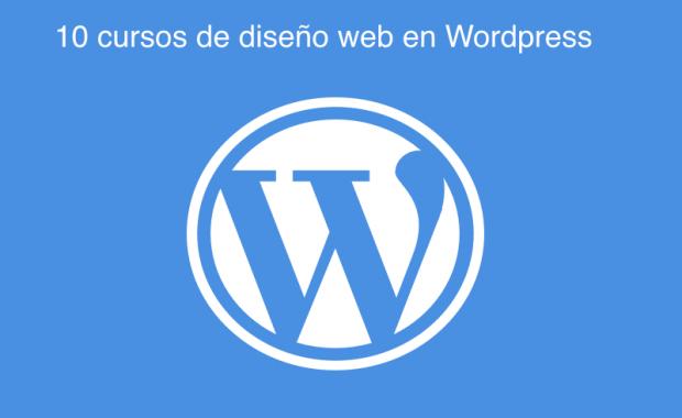 10 Cursos de diseño web en WordPress