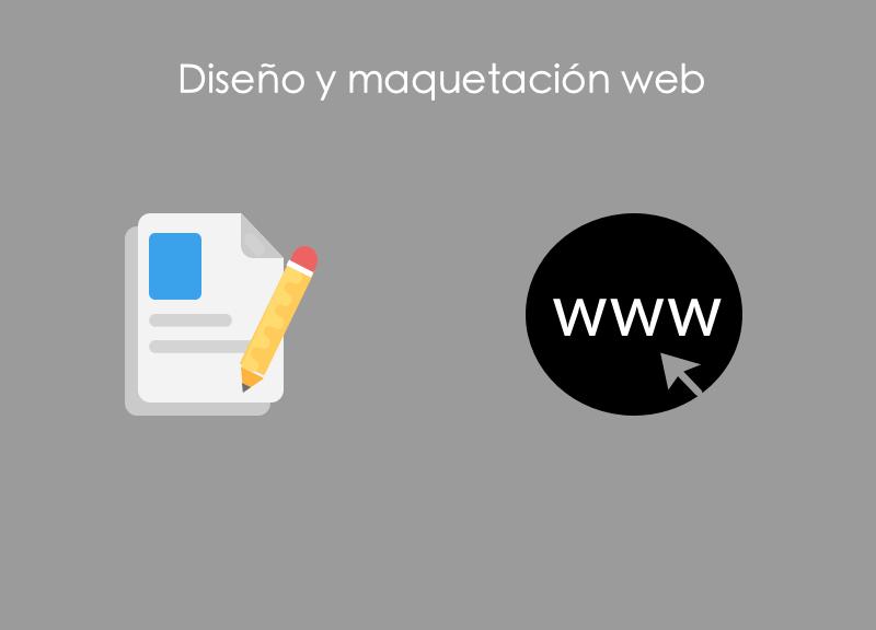 Diseño-y-maquetacion-web Diseño y maquetación web