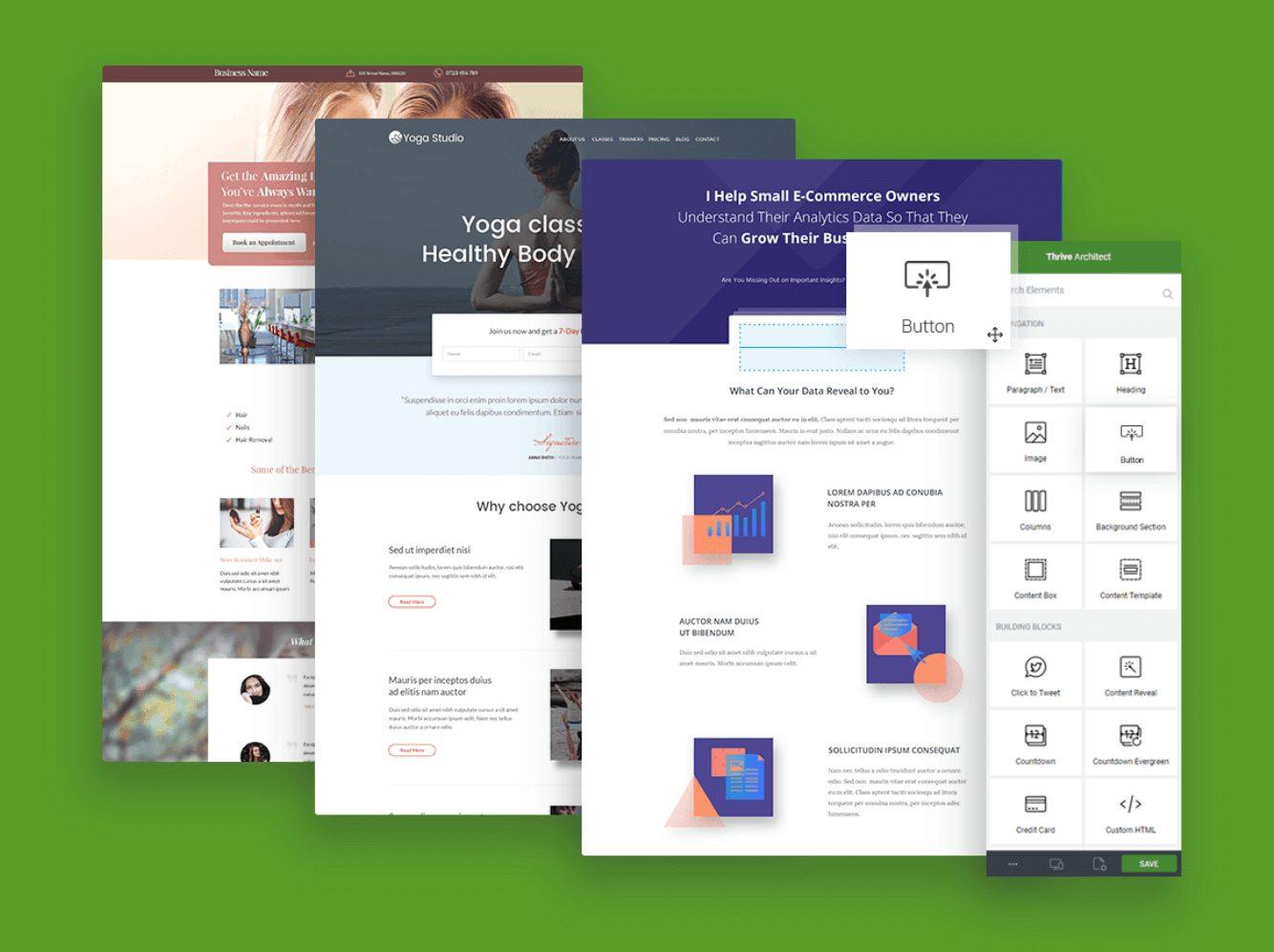 Wordpress-Landing-Pages 7 Formas de crear landing pages en Wordpress