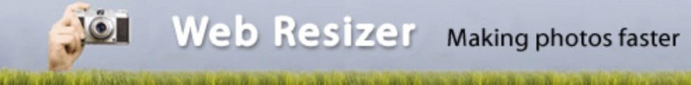 Webresizer Comprimir fotos para web