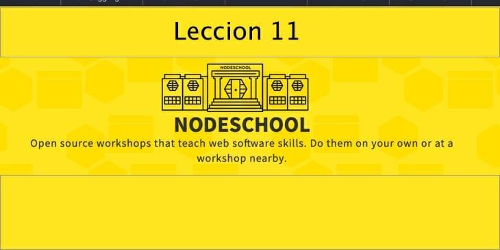 Leccion-11 learnyounode Lección 11 – HTTP File Server