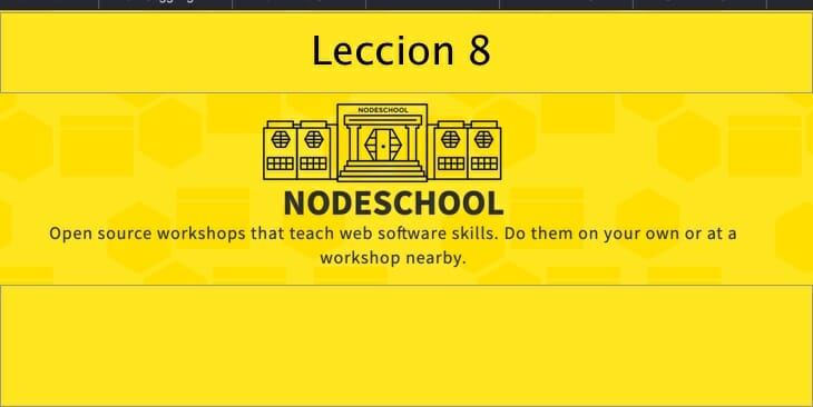 Leccion-8 learnyounode Lección 8 – HTTP Collect